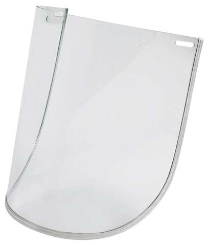 Visor - Clear Unisafe 1.0mm Bound High Impact  Polycarbonate 200mm x 300mm