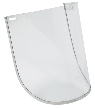 Visor - Clear Unisafe MI Thermotuff Heat & Chemical 200mm x 300mm
