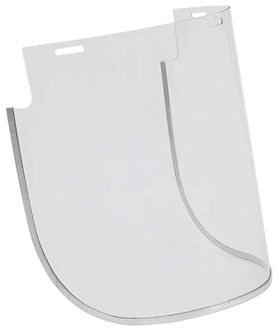 Visor - Clear 3M VV876 MI Thermotuff Bound Wide Flare Heat & Chemical - 200mm x 400mm
