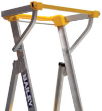 Safety Gate - Manual Closing suits Bailey Stepladders Handrail Width 475mm - 500mm