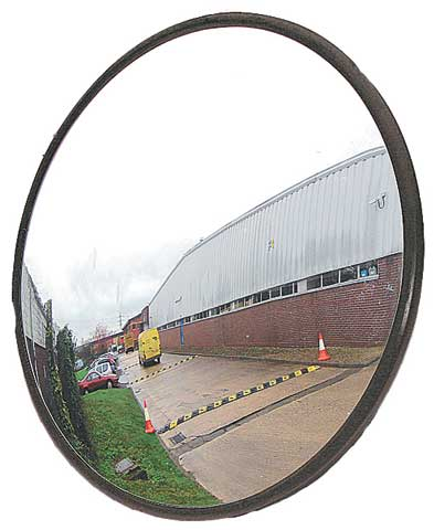 Mirror - Xtreme Vision Outdoor Scratch Resistant Acrylic Wall Mount 457mm c/w Brackets