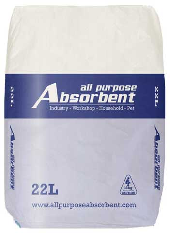 Spill Absorbent - All Purpose SpillSmart Sweep Absorbent - 22L