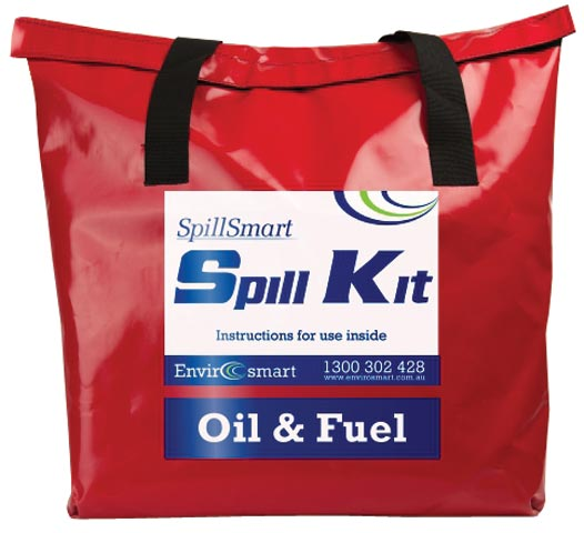 Spill Kit - Hydrocarbon On Water SpillSmart Mobile Bag - 50 L