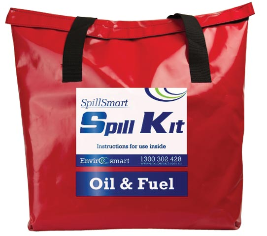 Spill Kit - Hydrocarbon On Water SpillSmart Mobile Bag - 80 L
