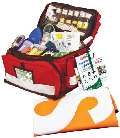 First Aid Kit - National Workplace Outdoor & Remote Trafalgar Lge Ptbl Soft Case 500x300x300mm