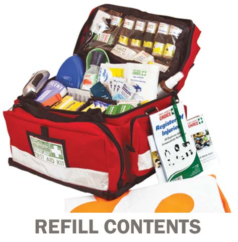 First Aid Kit Refill - National Workplace Outdoor & Remote Trafalgar