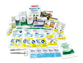 First Aid Kit Refill - Replacement Contents Trafalgar WR1 for Workplace Kits to SWA Code of Practice