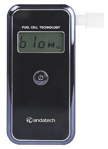 Breathalyser - Personal Alcosense Stealth c/w 50 Mouthpieces (Combo)