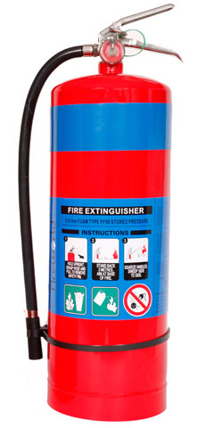 Fire Extinguisher - Fireworld Air/Foam 9.1L - AB (Charged)