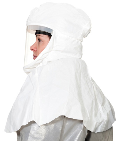 Respirator Head Top - Hood/Visor 3M Versaflo S-433L for use with TR-300/TR-600 PAPR Turbo Units -  L