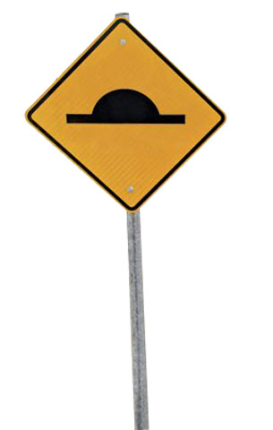 Sign Kit - for Slo-Motion Speed Hump