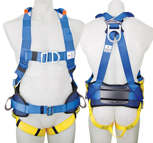 Harness - Construction 3M Protecta P50 1390062A c/w Front/Rear/Side D Rings/Waist Belt/Padded Hip/Back Pad - M