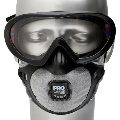 Goggle Mask Combo - FilterSpec Pro Goggle/Mask ProChoice AF/AS Lens & P2 Filter