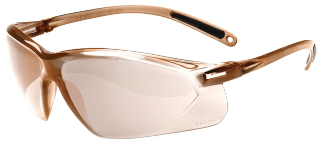 Spectacle - Light Brown Mirror Honeywell A700 AF Lens Brown Frame