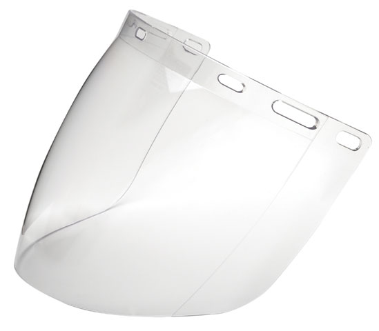 Visor - Clear ProChoice Polycarbonate  Economy 405mm x 205mm - Extra High Impact