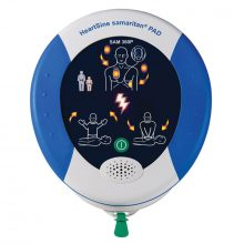 Defibrillator - HeartSine 360P - AED - fully automatic incl carry case & 3D Sign - 8 Year Warranty