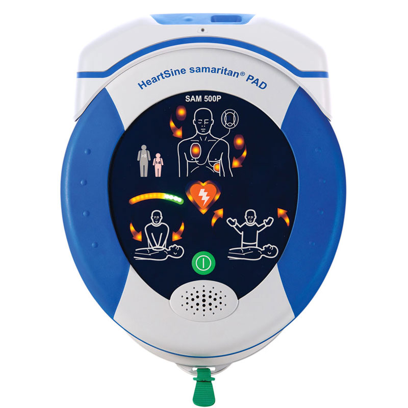Defibrillator - HeartSine 500PG - AED - semi automatic Gateway (WiFi) bundle - incl carry case and Gateway Module - 8 Year Warranty
