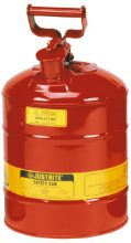 Safety Can - Flammable Liquids Storage Justrite - 7.6 Litres