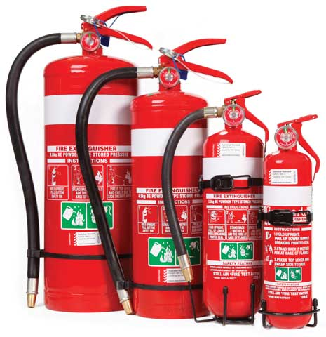 Fire Extinguisher - Fireworld Dry Chemical 4.5kg - BE