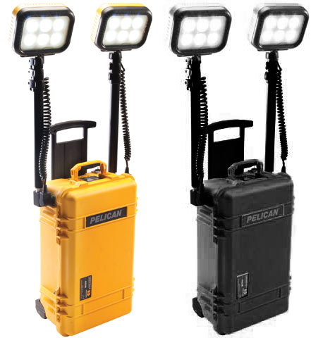 Light - Remote Area System Pelican 9460 Dual Head Rechargeable - Yellow