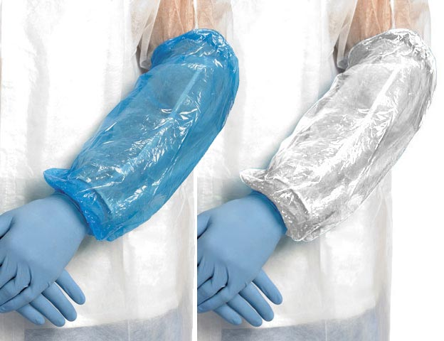 Sleeve - Disposable PE Pro-Val DPESP Armgard 40cm - Blue