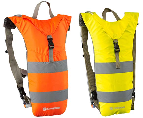 Back Pack - Hydration Caribee Nuke HI VIS Slim Line Design 3L - Orange
