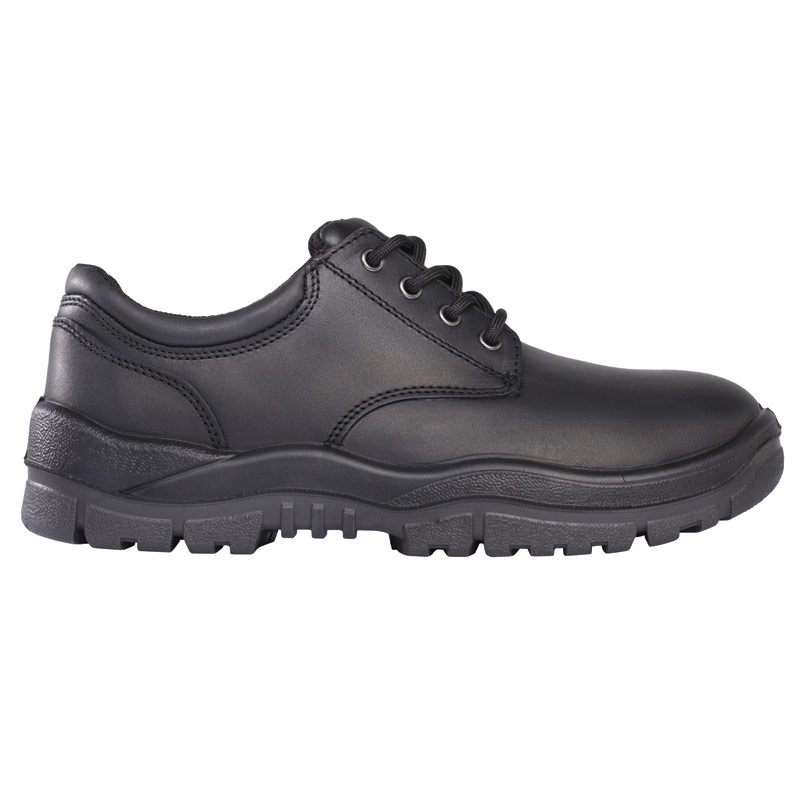 Shoe - Safety Mongrel 210025 Full Grain Lace-Up DD TPU Sole Black - 3