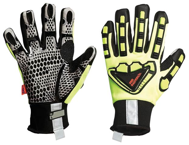 Glove - Leather Synthetic Pro-Fit Razorback Oil N Gas - S