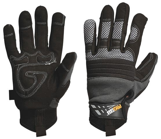 Glove - Leather Synthetic ProFit 'Grip' Reinforced Palm - M