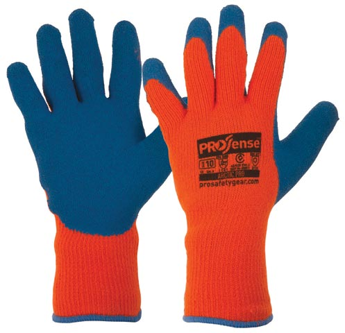 Glove - Rubber Latex ProSense ArcticPro Coated Palm Acrylic Wool Liner - 9