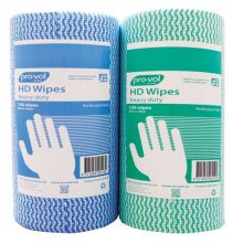 Wipes - Heavy Duty Pro-Val WP 30cm x 45cm Perforated Roll - Blue