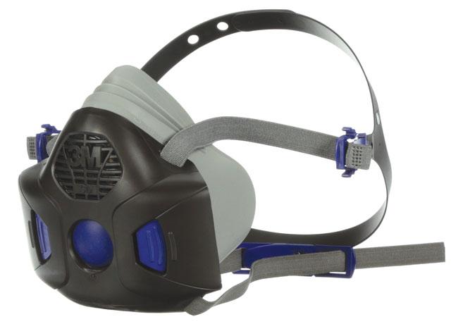 Respirator - Half Face 3M 800SD Secure Click 801SD Series Silicone Twin Filter - L