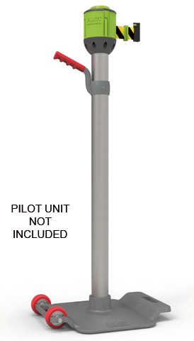 Bollard - S/Steel Co-Pilot 20KG Post and Cast Iron Base with Handle