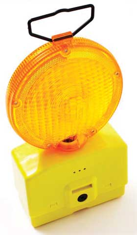 Light - Road Safety ProChoice Double Sided c/w Batteries - Yellow