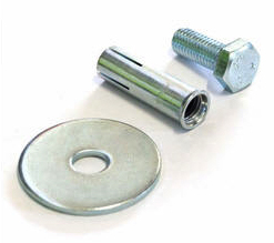 Fixing Kit - for TWS1700 Poly Compliance Wheel Stop to Shallow Concrete