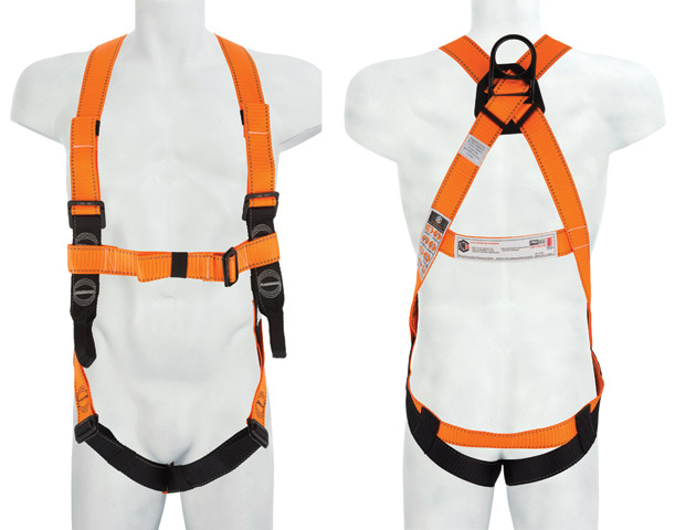 Harness - LinQ Essential c/w Dorsal D Ring & Front Belay Loops - XL/2XL