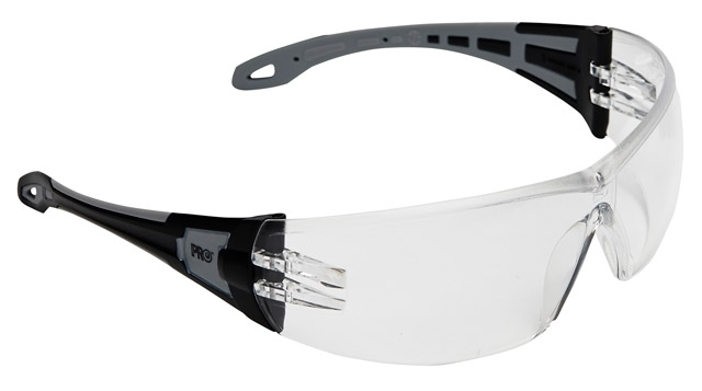 Spectacle - Clear ProChoice The General MI AF/HC Lens Black/Grey Side Arms