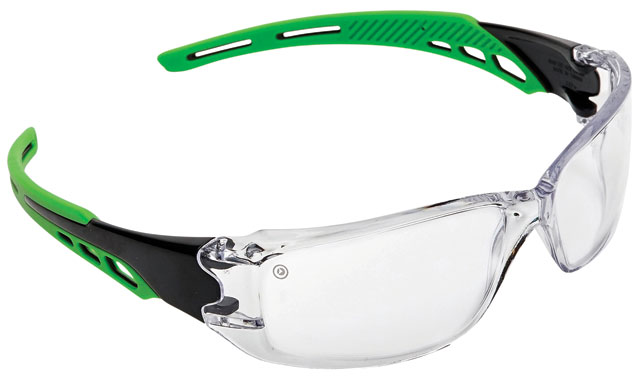Spectacle - Clear ProChoice Cirrus MI AF/HC Lens Green Side Arms