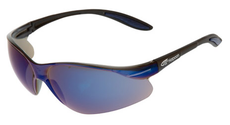 Spectacle - Blue Mirror VisionSafe Harpoon Black Frame