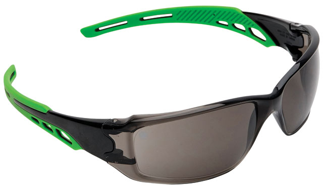 Spectacle - Smoke ProChoice Cirrus MI AF/HC Lens Green Side Arms