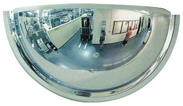 Mirror Dome - Xtreme Vision Half Dome Wall Mount 660mm x 300mm