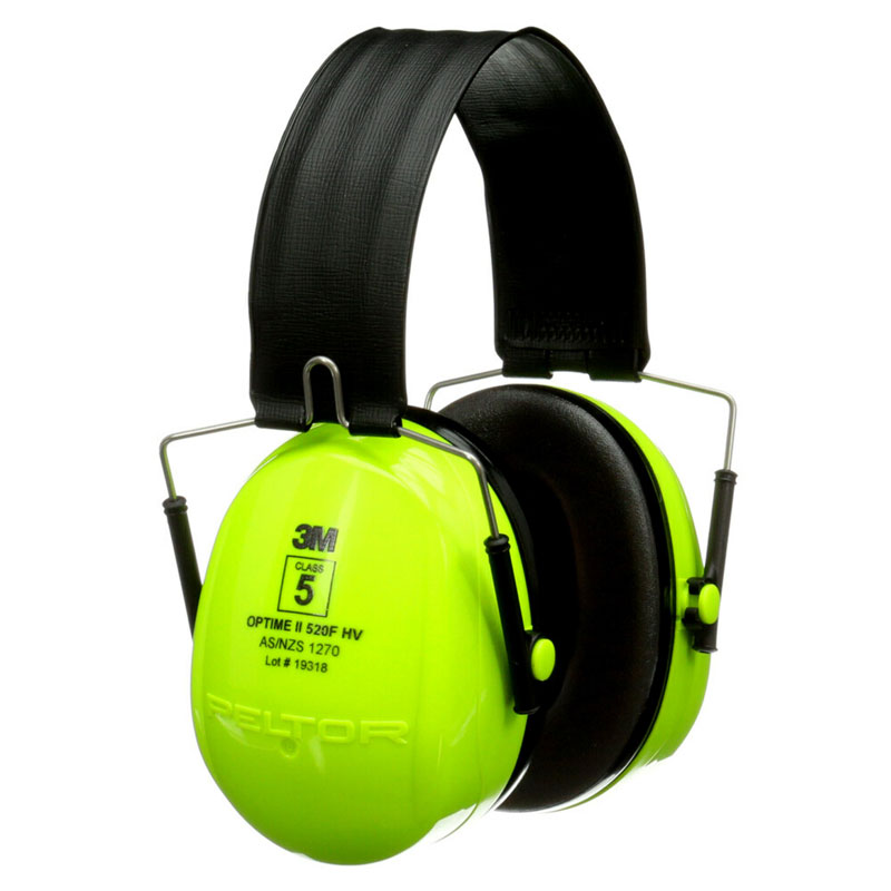 Earmuff - Folding 3M Peltor H7F HI VIS Yellow (CL 5 - 31dB)