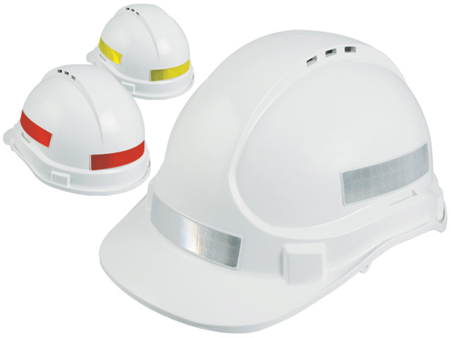 POA Tape - Reflective 25mm For 3M Caps Class 1 Factory Fitted 4 Strips (Front