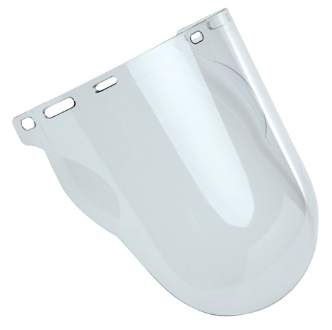 Visor - Clear ProChoice VCGC Striker Anti Fog/Scratch with Chinguard 410 x 260mm - Extra High Impact