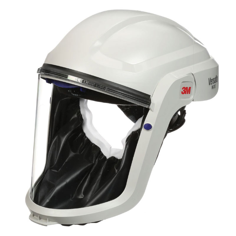 Respirator Head Top - Faceshield 3M Versaflo M-207 FR Faceseal use with TR-300/TR-600/Jupiter PAPR Turbo Units & V-500E Air Supply Unit