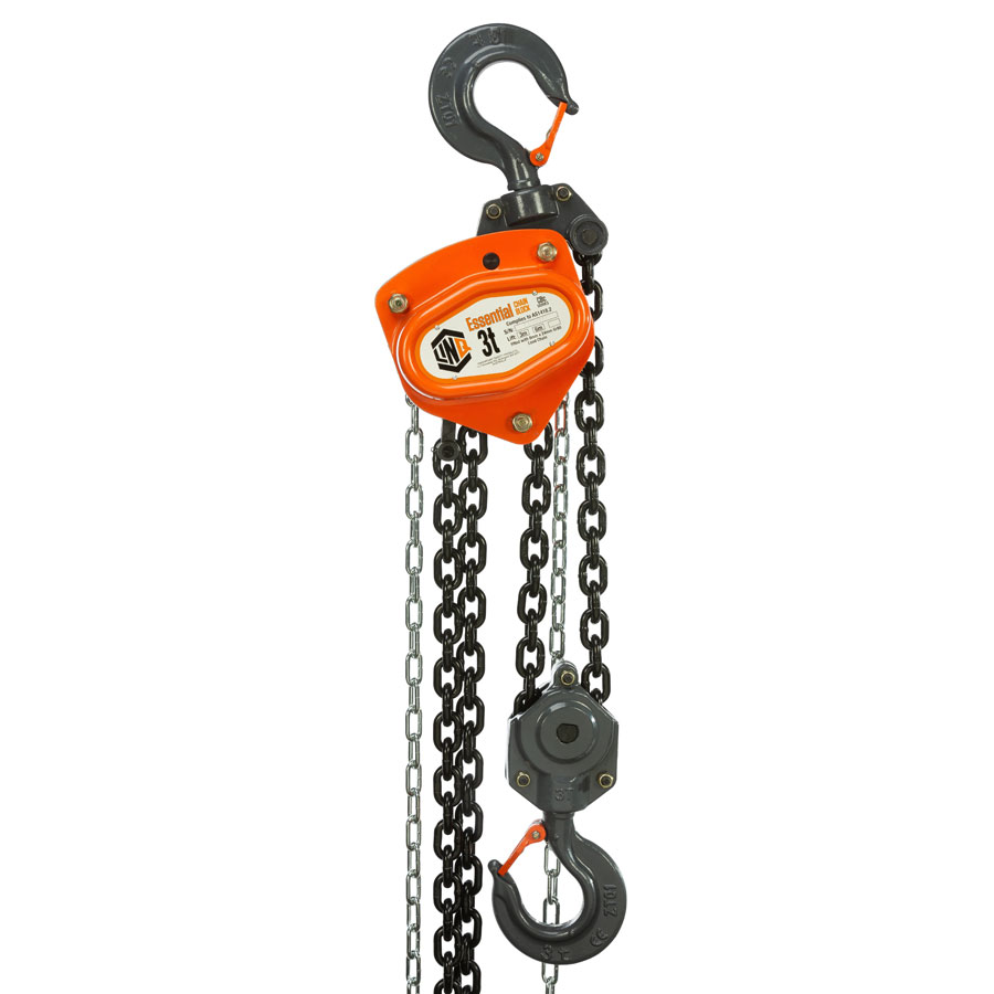 Lifting System - Chain Block LinQ Essential Commercial 3 Tonne - 3.0M