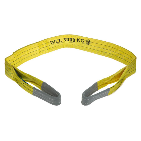 Sling - Flat LinQ SF03060 Yellow Polyester 3T - 6.0M