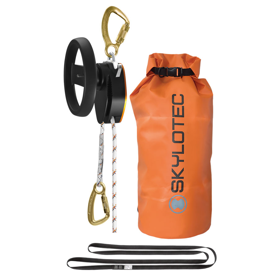 Rescue kit - SKYLOTEC Milan 2.0 Power - SKYLOTEC Includes 20m x 9mm static rope Hardware and Anchor sling