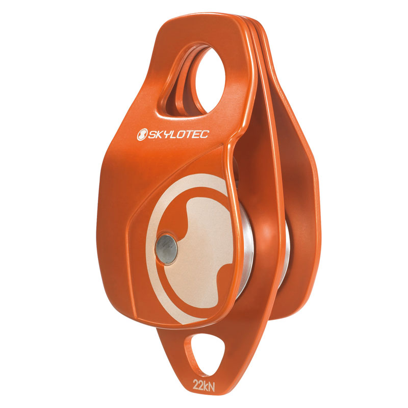 Pulley - SKYLOTEC Double Rope 50kN 27mm Eye 2 cut-outs 13mm Rope