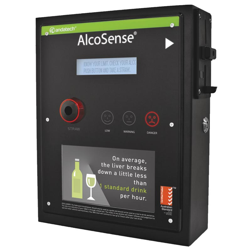 Breathalyser - Workplace AlcoSense Soberpoint 3 Lite c/w LCD